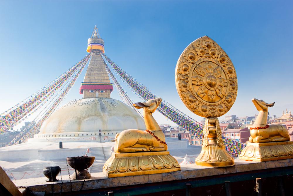 Ступа Боднатх, Катманду, Непал